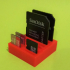 SD & MicroSD holder print image