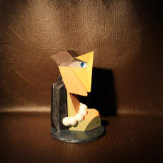 Picture of print of Cubist sculpture