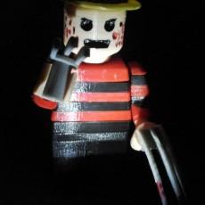 LEGO GIANT FREDDY KRUEGER