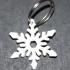 Snowflake keychain image