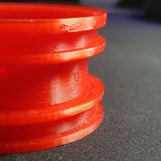 Picture of print of 1.9 RC FJ40 wheel
