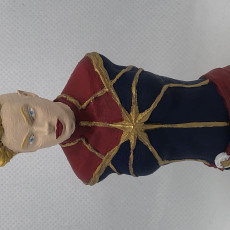 Picture of print of Captain Marvel (Comic version) Bust This print has been uploaded by Daniel VanDemark