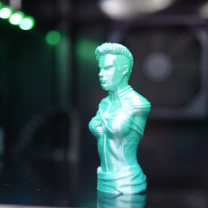 Picture of print of Captain Marvel (Comic version) Bust