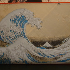 Picture of print of The Great Wave off Kanagawa