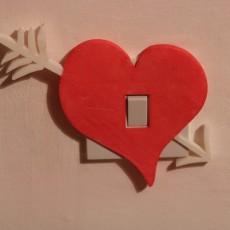 Heart light switch