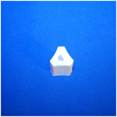 Picture of print of 3 sided DJ knob