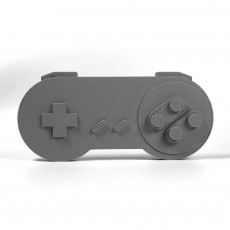 Picture of print of SNES controller without chord