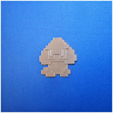 Picture of print of 8-Bit Goomba Sprite This print has been uploaded by MingShiuan Tsai