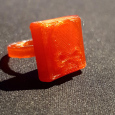 Picture of print of 3D Printed Halloween Ring