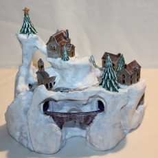 Picture of print of Winter Wondertown