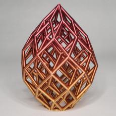 Picture of print of Cubic Lattice Statue