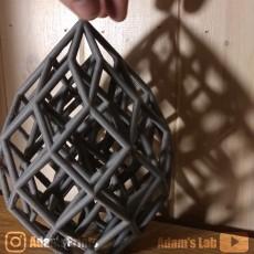 Cubic Lattice Statue
