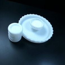 Picture of print of Chip and dip bowl