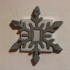 Snowflake Light switch cover image
