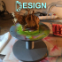 Airbrush model stand image