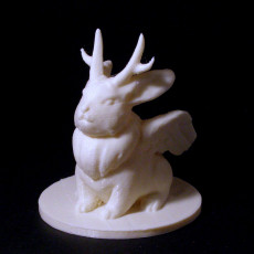 Picture of print of Wolpertinger