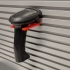 Barcode Scanner Gun Holder for Slot Wall image