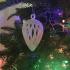 Lattice Teardrop Christmas Tree Ornament image