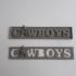 Cowboys Banner Logo print image