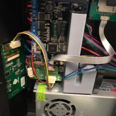 3D Printable Anycubic i3 Mega UltraBase fan duct for stepper