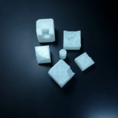 Picture of print of Parts of a Rubik's cube
