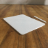 iPad Pro 12.9 Inch 2018 and Apple Pencil 2018 Mockup image
