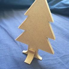 Christmas tree easy to print