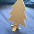 Christmas tree easy to print image