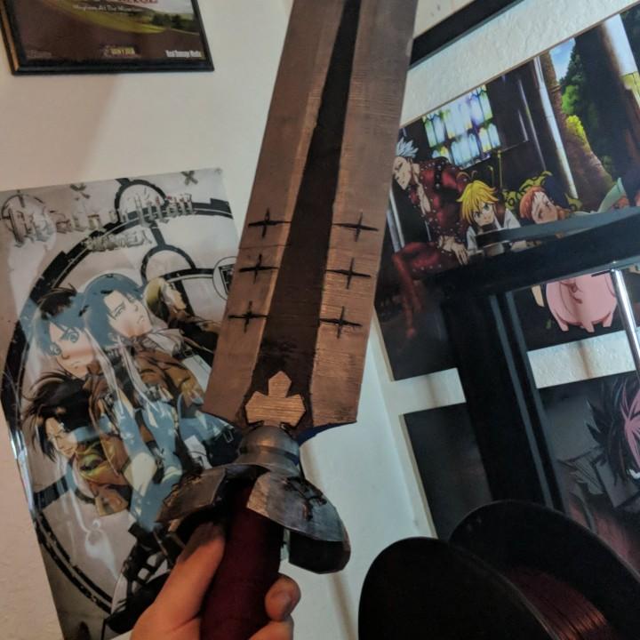 Asta's Demon Sword - Black Clover