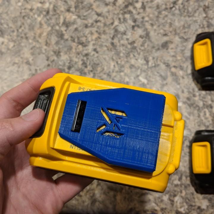 Dewalt 20V Battery Slim Cover (V3 18-11-13)