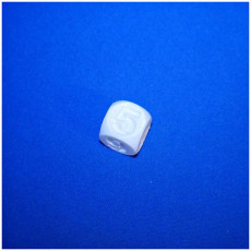 Picture of print of dice
