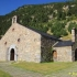 "Little church in ""La Vall de Núria"" catalonia image"