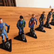 Action Figure Baseplate Stand