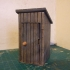 Playmobil Compatible Outhouse/outdoor toilet primary image