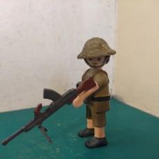 Playmobil Compatible Bren gun
