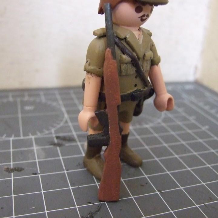 Playmobil Compatible M1 Carbine Rifle