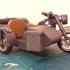 Playmobil Compatible WW2 German Motorbike sidecar updrade. image