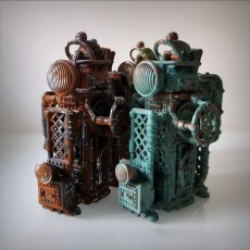steampunk carrier Box