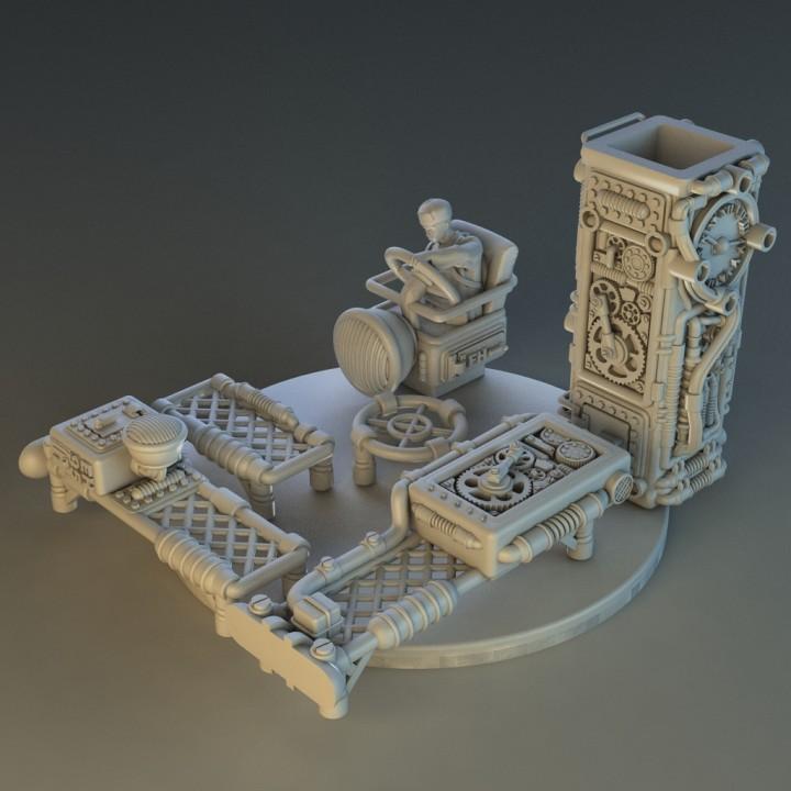 steampunk carrier Box