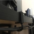 cable hook for desk 34-35 mm (ikea Linnmon) image
