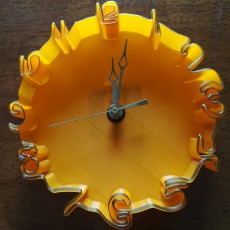 Wavy Clock