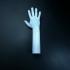 Lego Hand print image