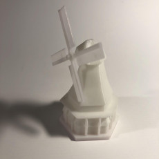 Picture of print of wind mill