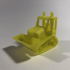 Bulldozer print image