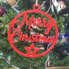 Christmas ball for the tree