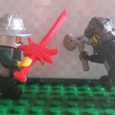 Lego Minifigure Sword