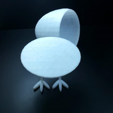 Picture of print of Egg lamp2
