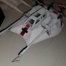 Picture of print of Star Wars Snowspeeder