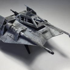 Picture of print of Star Wars Snowspeeder