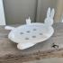 Rabbit soap holder image